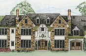 English Manor Floor Plans
