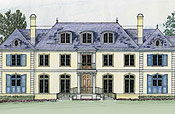 French Normandy Floor Plans